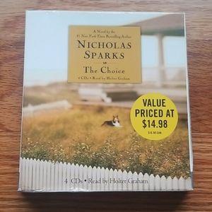 Nicholas Sparks The Choice audiobook on cds